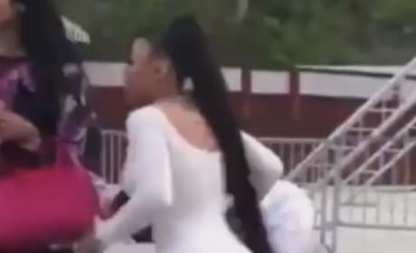 Blac Chyna Throws Down In WILD Six Flags Fight Video! WATCH!
