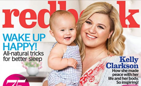 Kelly Clarkson and Baby