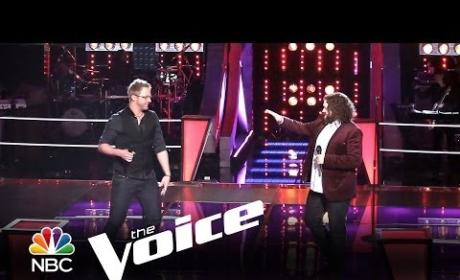 Josh Murley vs. Patrick Thomson: 'Run to You' (The Voice)