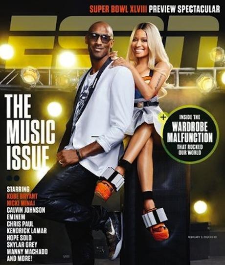 Nicki Minaj & Kobe ESPN Photoshop Fail