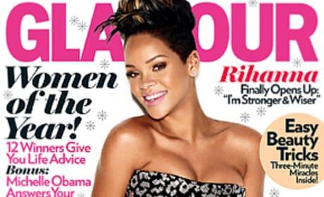 Rihanna Glamour Cover