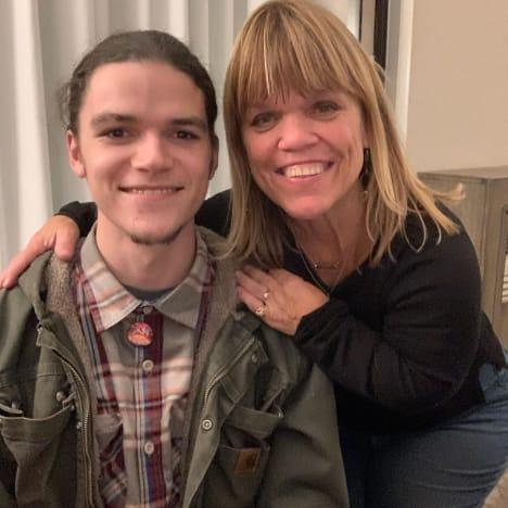 Amy Roloff y su hijo menor