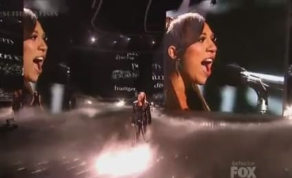 "Melanie Amaro Covers ""Man in the Mirror"" on The X Factor"