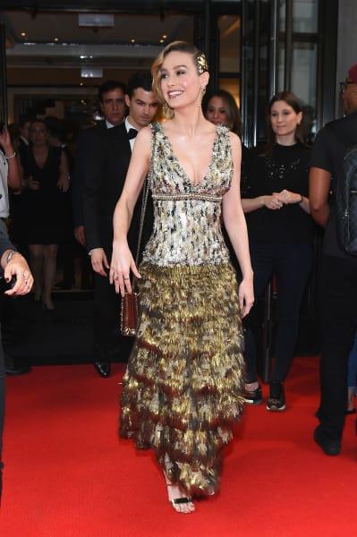 Brie Larson at 2017 MET Gala