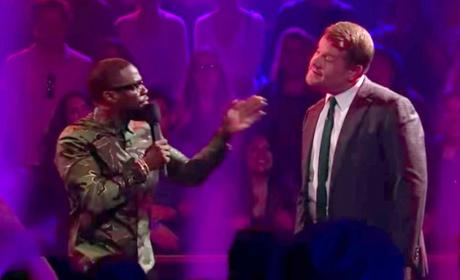 James Corden vs. Kevin Hart: Who Dissed Whom Hardest?