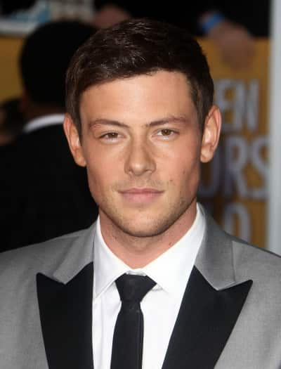 Cory Monteith in a Suit