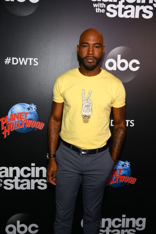 Karamo brown attends dancing with the stars event