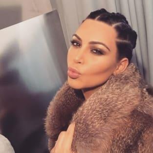 Kim Kardashian Kisses
