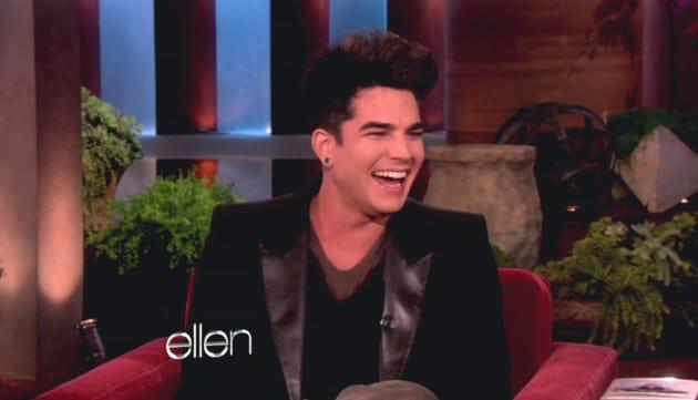 Adam Lambert on Ellen