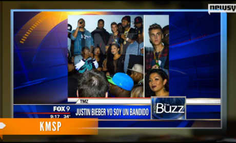 Justin Bieber: Drinking and Clubbing in Texas!