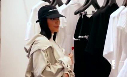 Kim Kardashian Nearly Breaks Down in Post-Robbery Shopping Trip