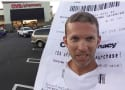 Man Dresses as Insanely Long CVS Receipt, Wins Halloween