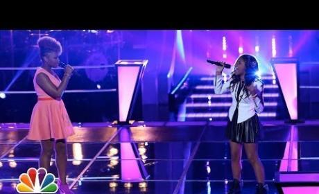"""Amber Nicole vs. Timyra-Joi: """"Listen"""" - The Voice Battle Round"""
