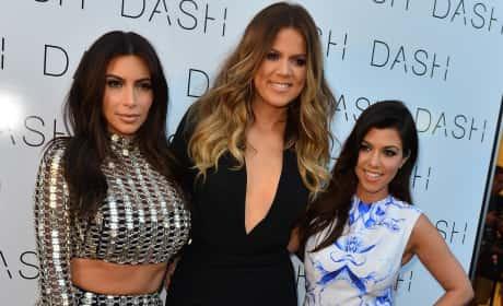 Kim, Khloe and Kourtney in Miami