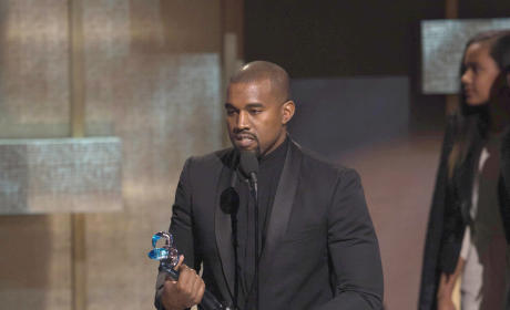 Kanye at BET Honors