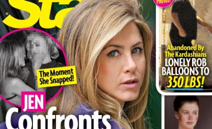 Justin Theroux: Caught Cheating on Jennifer Aniston?!