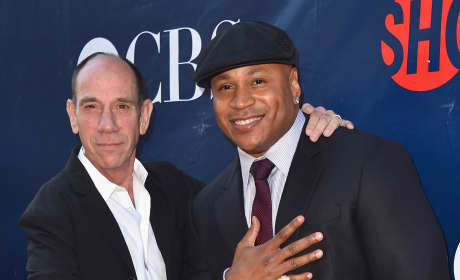 Miguel Ferrer and LL Cool J