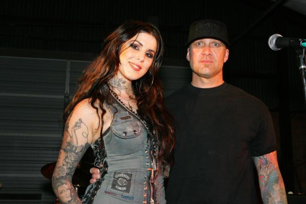 Kat Von D and Jesse James Photo