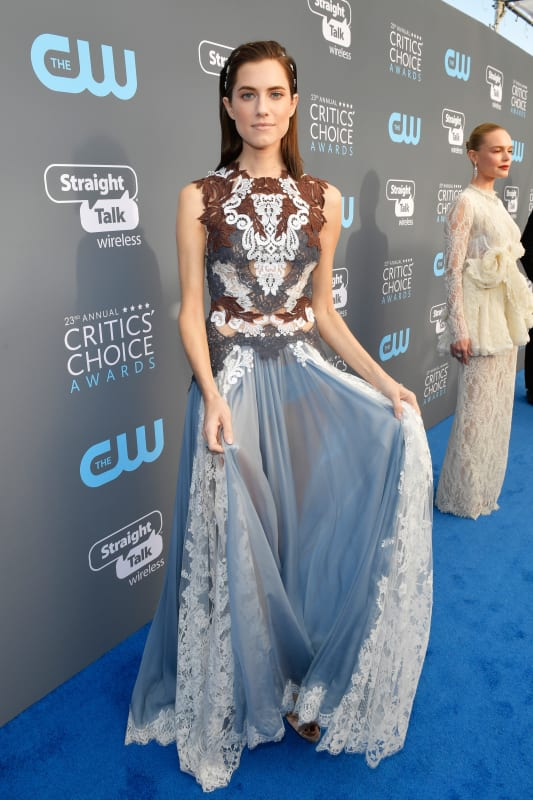 Allison williams gets fancy