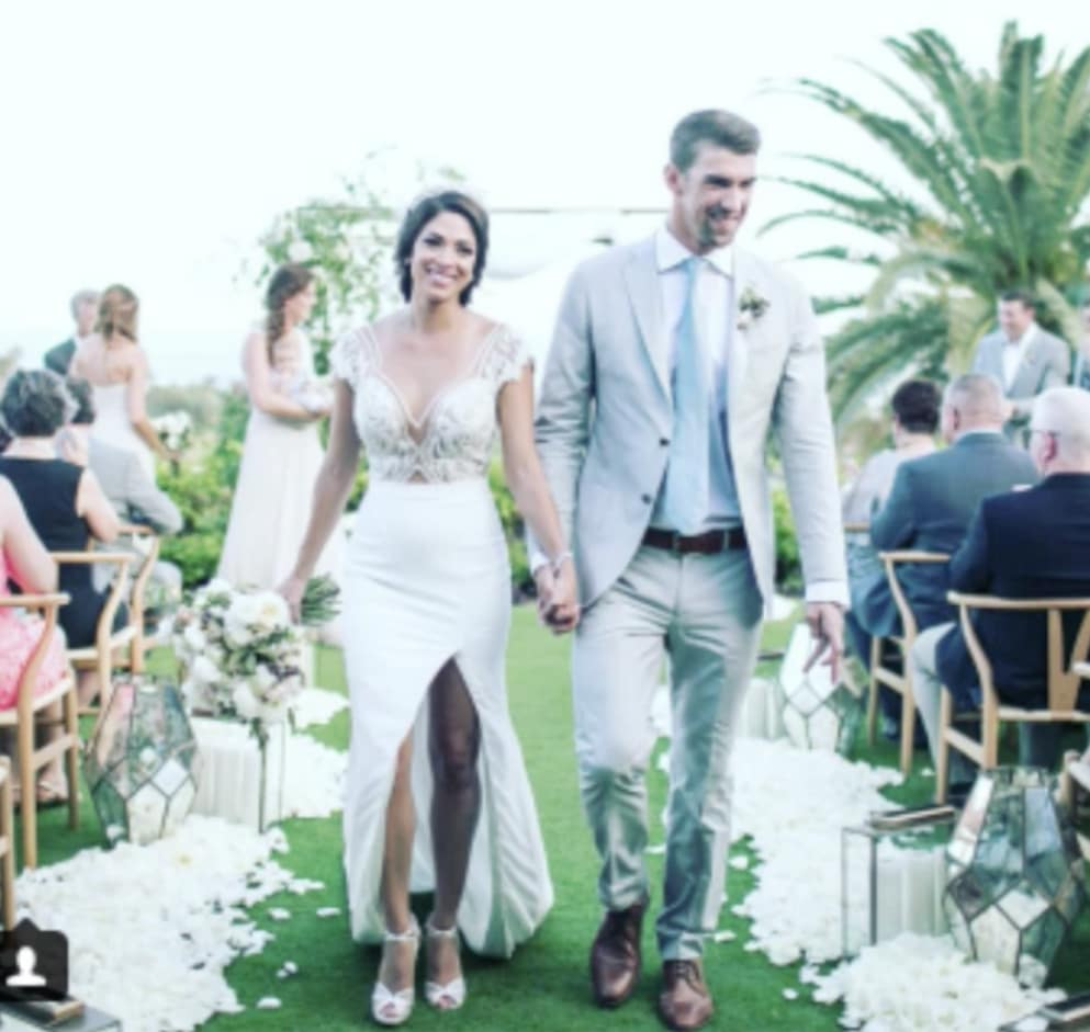 Michael Phelps and Nicole Johnson: Married! Again! - The Hollywood ...