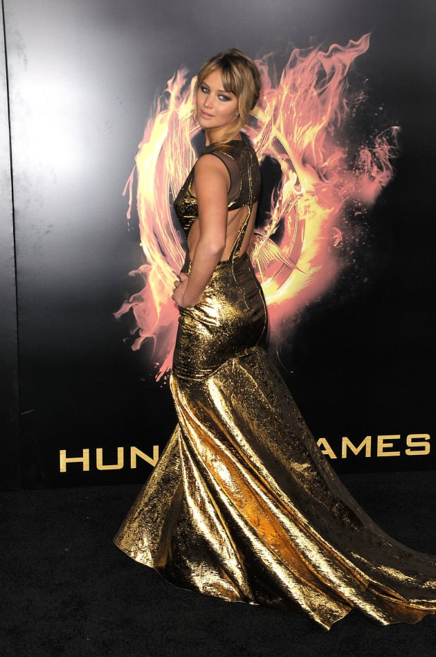 Jennifer Lawrence at Hunger Games Premiere