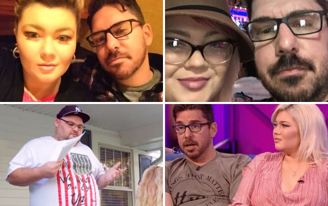 Amber portwood and matthew baier