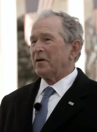 George W. Bush on January 20