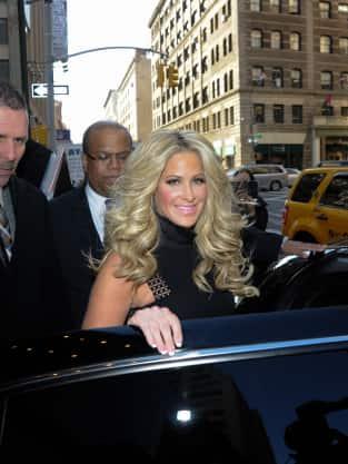 Kim Zolciak in New York
