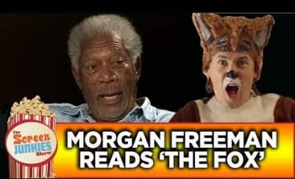 """Morgan Freeman Reads """"The Fox"""" Lyrics, Robert DeNiro Takes on """"Wrecking Ball"""" & More!"""