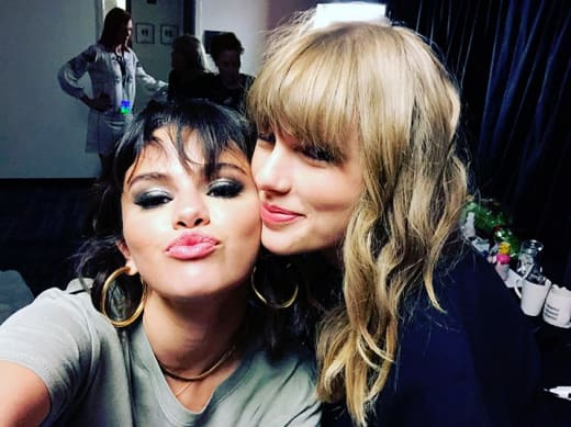 Selena Gomez and Taylor Swift, IG Besties