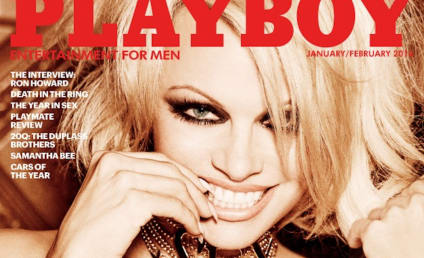 Pamela Anderson Covers Playboy's Last Nude Issue EVER