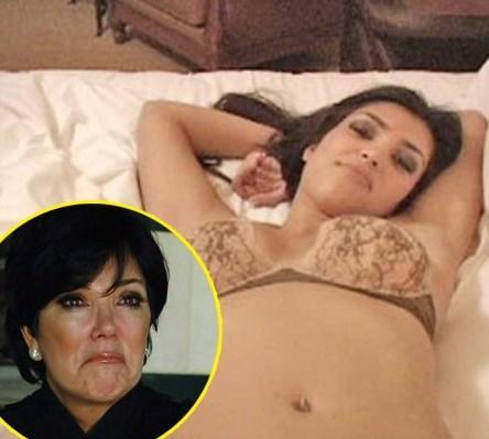 She peddled the Kim Kardashian sex tape