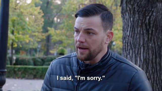 Andrei se disculpó