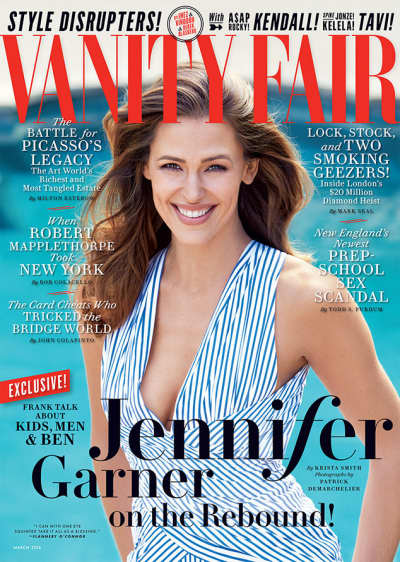 Jennifer Garner Vanity Fair Cover