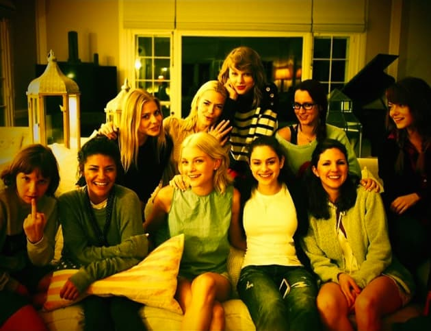 Taylor Swift and Famous Friends