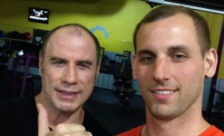 John Travolta: Gay Selfie?
