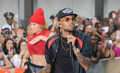 Is Chris Brown akin to Jesus?