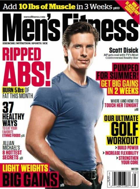 Scott Disick on Men's Fitness