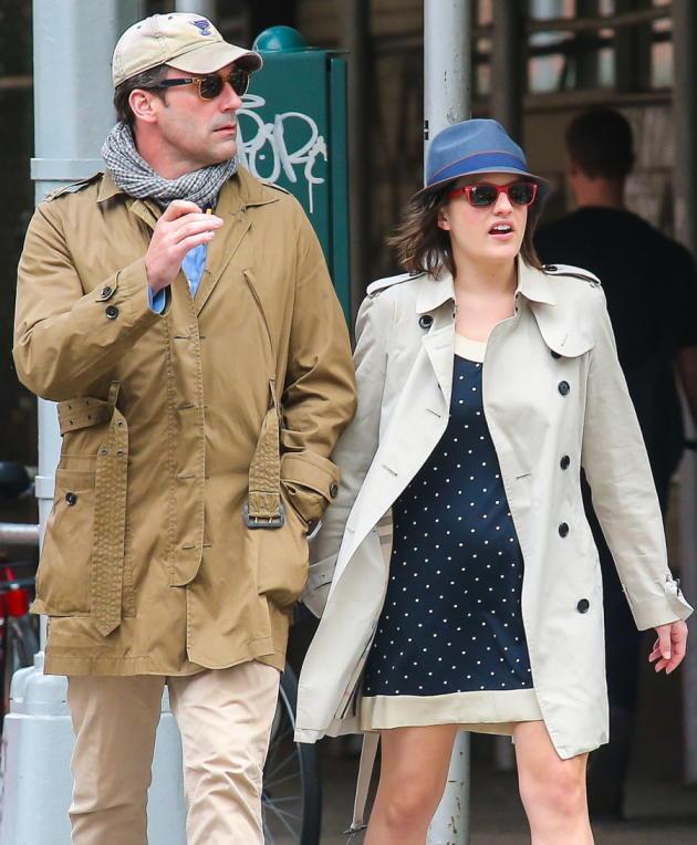 Jon Hamm and Elisabeth Moss
