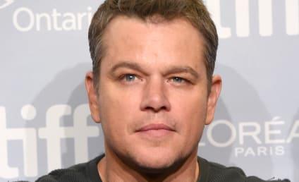 Matt Damon: I Should Probably Shut Up, Huh?!?