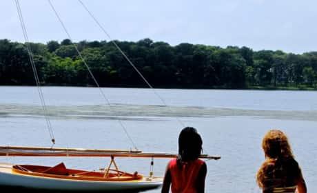 Beyonce By The Lake