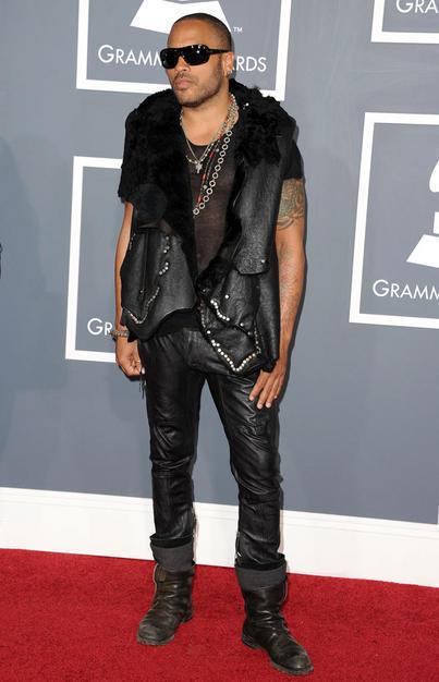 Lenny Kravitz at the Grammys