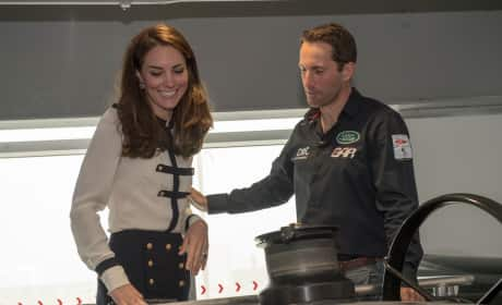 Kate Middleton Chats With Sir Ben Ainslie