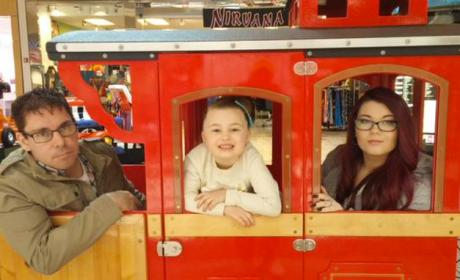 Amber Portwood, Matt Baier and Leah