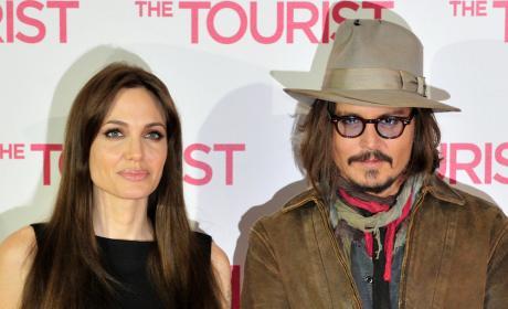 Johnny Depp Angelina Jolie Photo
