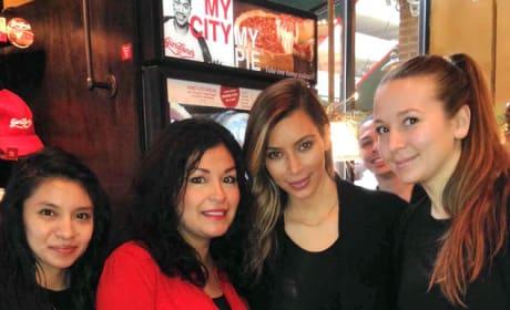 Kim Kardashian in Chicago