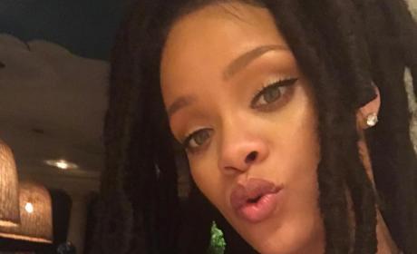 Rihanna Instagram Selfie