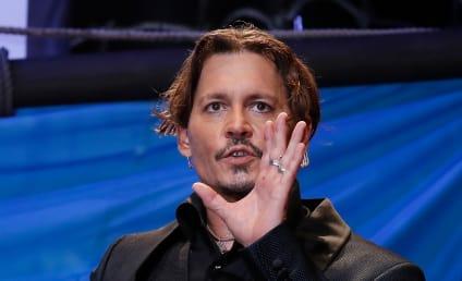 Johnny Depp Jokes About Killing Donald Trump
