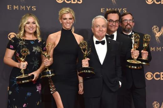 Lindsay Shookus at the Emmys