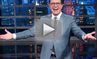 Stephen Colbert to Donald Trump: I Won!!!!